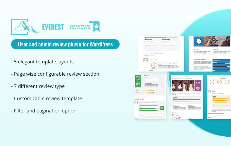 Post / Page / Custom post type Review plugin for WordPress by User and admin – Everest Review