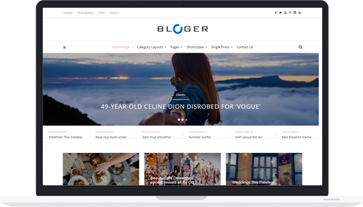 #1 Premium WordPress Blogging Theme – Bloger Pro