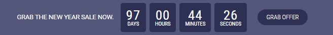 Apex notification bar CountDown Timer components