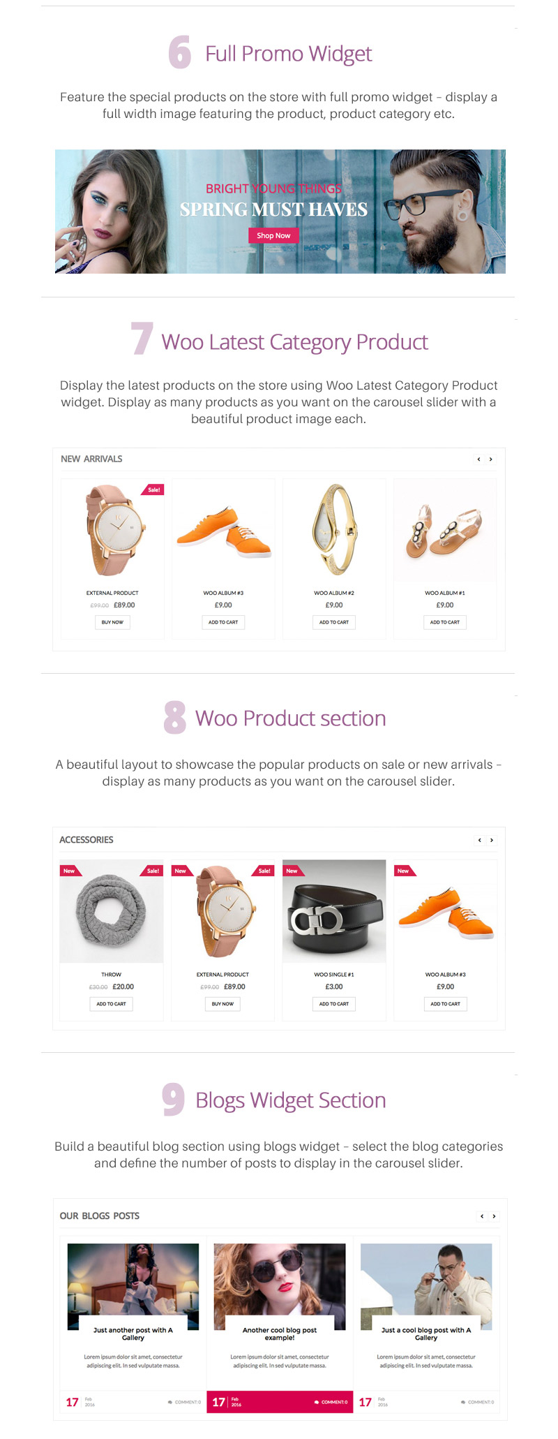 Premium WordPress Fashion eCommerce  Theme – Fashstore Pro