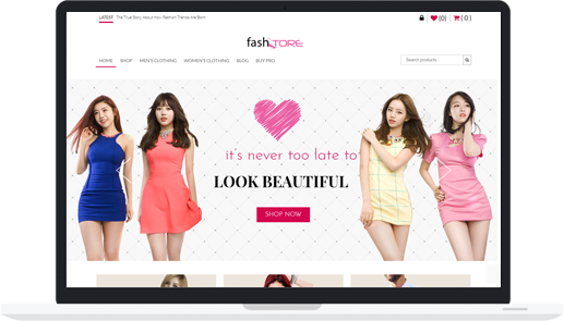 Free WordPress Fashion Store / WooCommerce Theme – FashStore