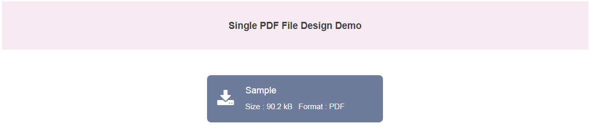 WP Media Manager Lite PDF File Layout Frontend Display