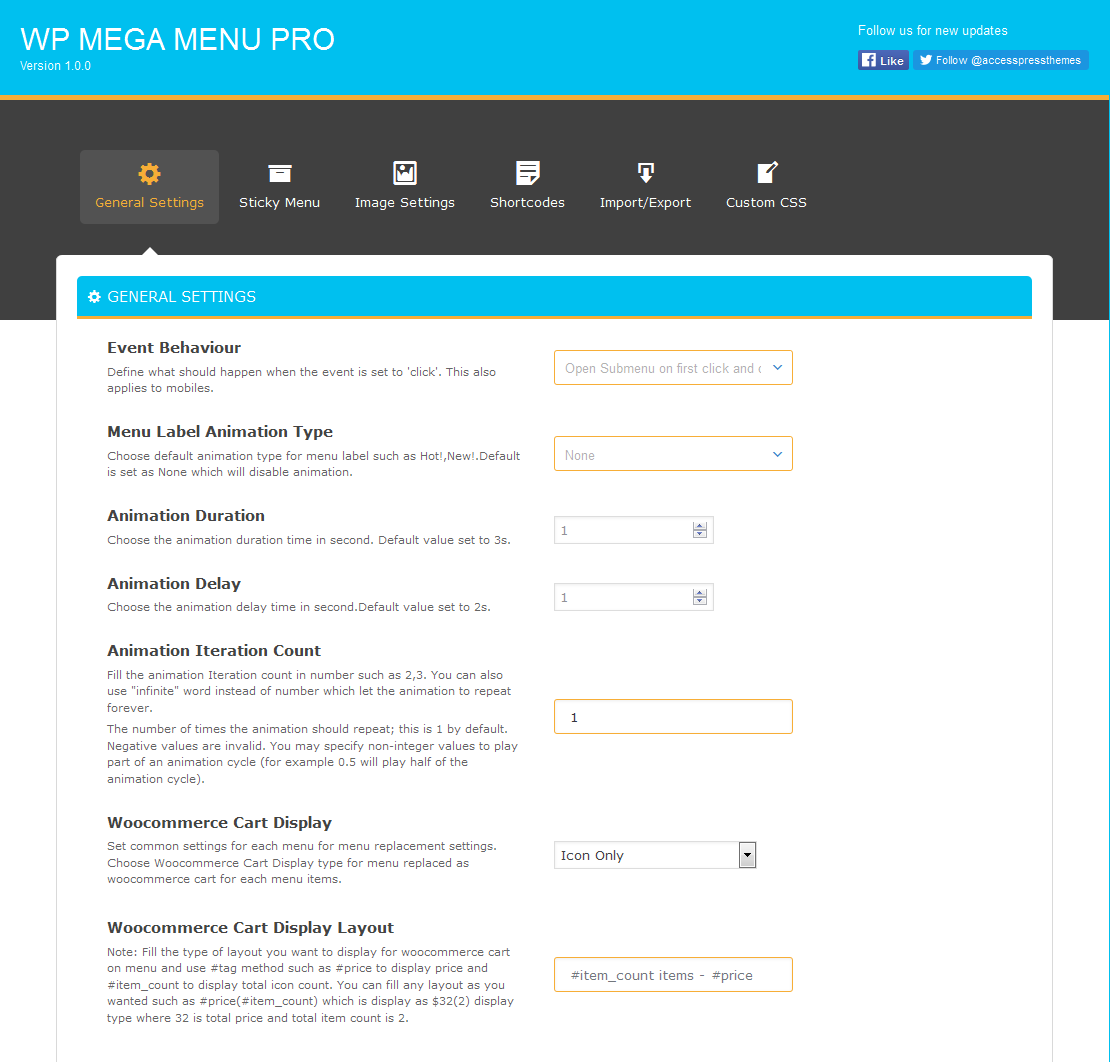 Responsive Mega Menu Plugin for WordPress : WP Mega Menu Pro