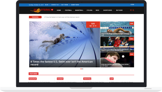 Premium WordPress Sports Magazine Theme – SportsMag Pro