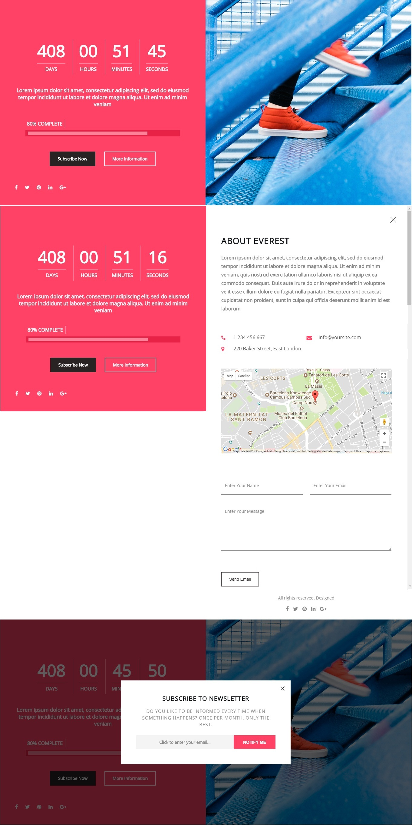maintenance mode html template - ultimate coming soon maintenance mode plugin for