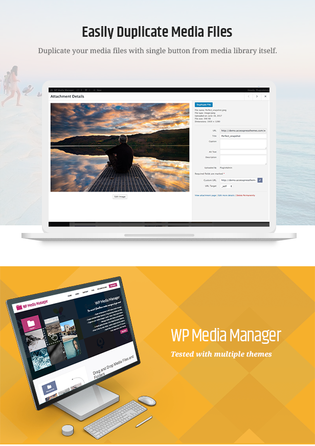 WP Media Manager - The Easiest WordPress Media Manager Plugin - 10