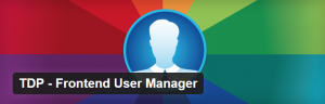 TDP-Frontend User Manager