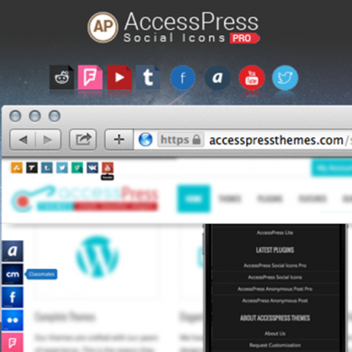 New Release: AccessPress Social Icons
