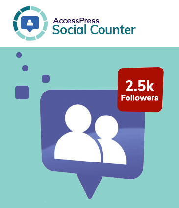 WordPress Social Counter Plugin – AccessPress Social Counter