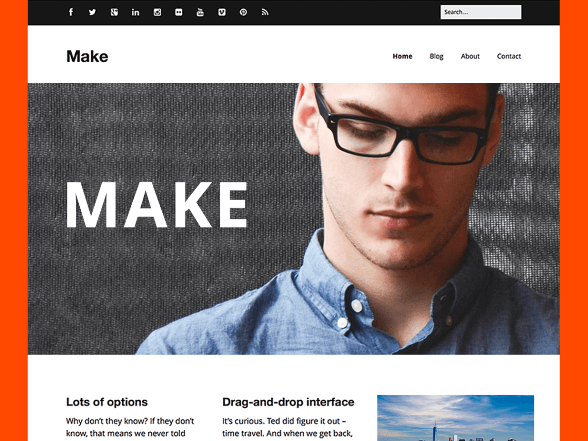 Top 10 Free Responsive WordPress Theme 2015 AccessPress Themes
