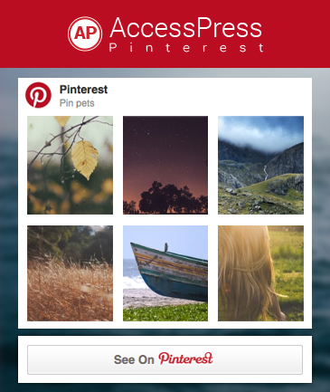 Free WordPress Plugin for Pinterest - AccessPress Pinterest