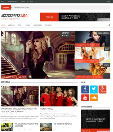50+ Free WordPress Responsive Themes 2019 Download @ AccessPress Themes