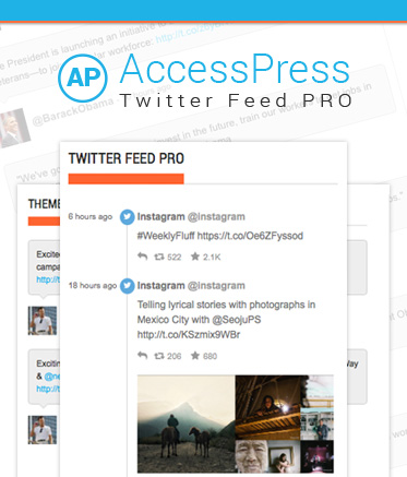 how to add twitter feed to wordpress