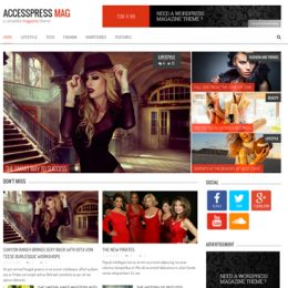 AccessPress Mag Pro Feature