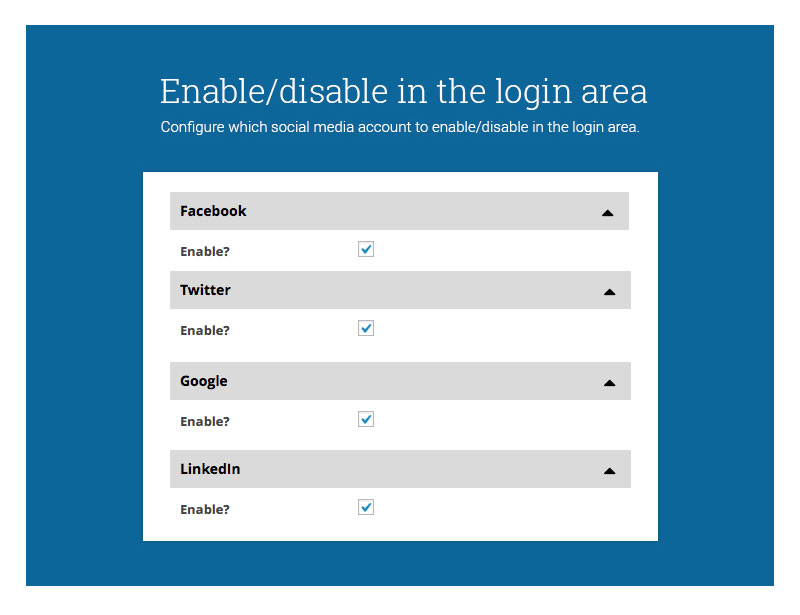 enable-or-disable-login-area
