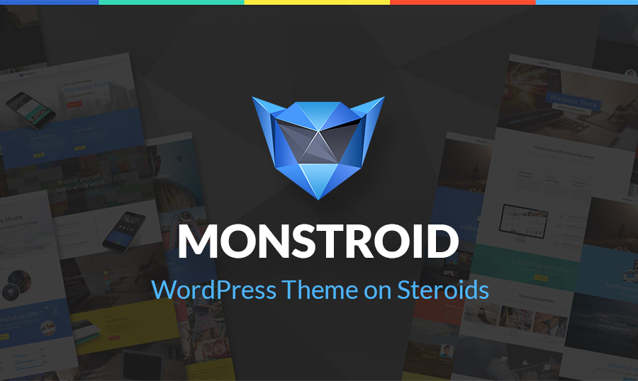 Meet Monstroid - a Web Design Monster You Should Not Be Afraid of