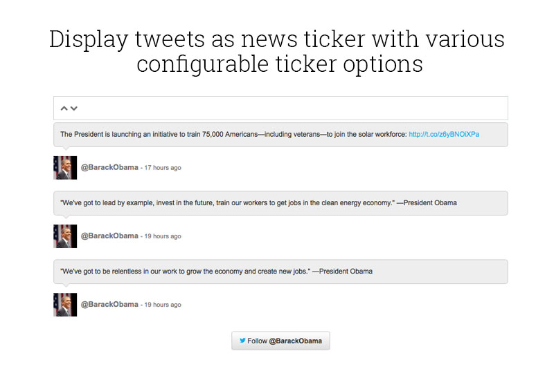 display-tweets-as-News-Ticker