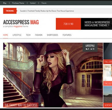 Want a perfect Premium WP Magazine theme? Get AccessPress Mag Pro