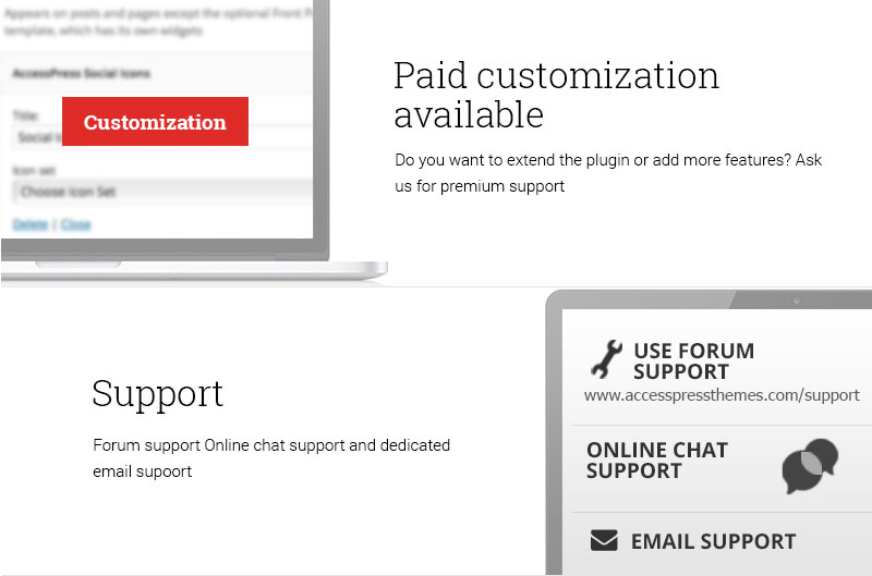 best-support-&-paid-customization