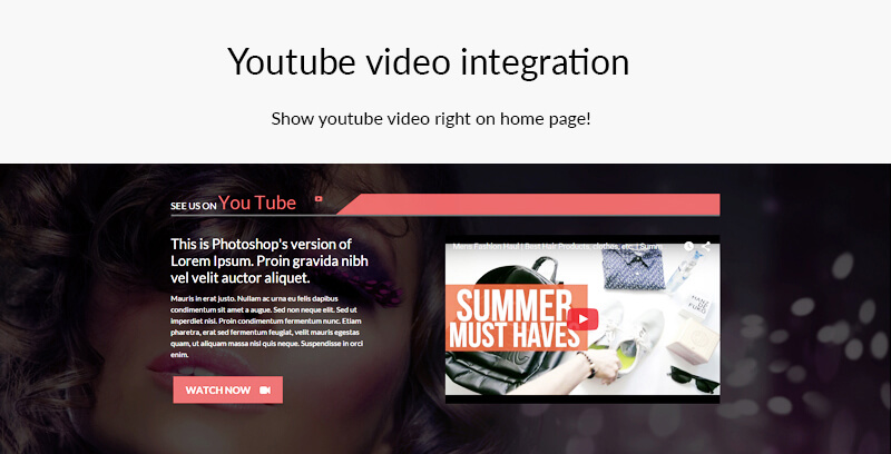 YouTube-video-integration