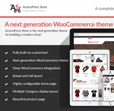 Seeking a Splendid WooCommerce Store theme? -Get AccessPress Store