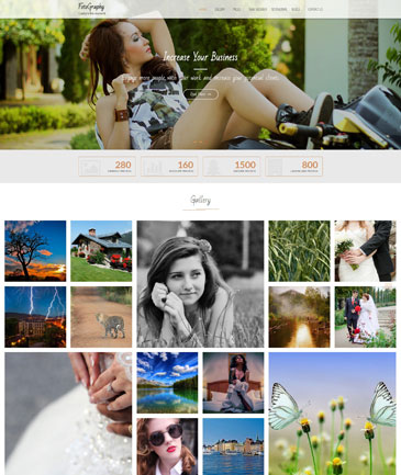 Free WordPress Photography Theme - FotoGraphy