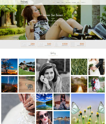 Free WordPress Photography Theme – FotoGraphy