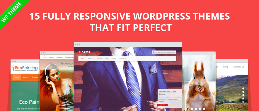15 Fully Responsive & Adaptive WordPress Themes That Fit Perfect