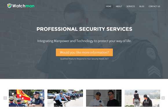 WatchMan WordPress Theme