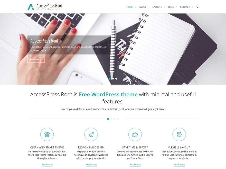 30+ Free Business WordPress Themes - Listed Only the BEST