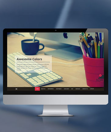 Scrollme Free WordPress Theme