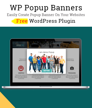 Free WordPress Popup Banners Plugin – WP Popup Banners