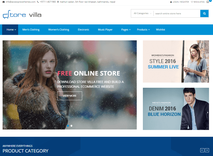 25 Best Free Woocommerce Wordpress Themes 2020