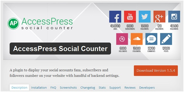 accesspress-social-counter
