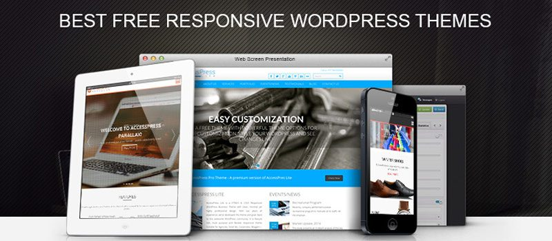 30+ Best FREE Responsive WordPress Themes and Templates 2019 (Completely Free)