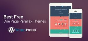 Free One Page Parallax WP Themes