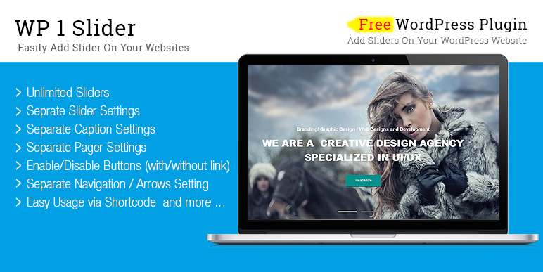 Free WordPress Slider Plugin – WP 1 Slider