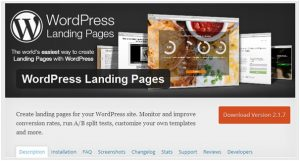 wordpress-landing-pages