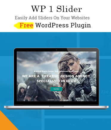 Free WordPress Slider Plugin - WP 1 Slider