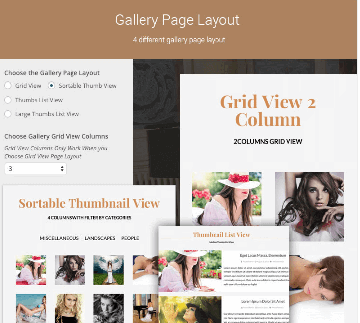 Gallery-Page-Layout