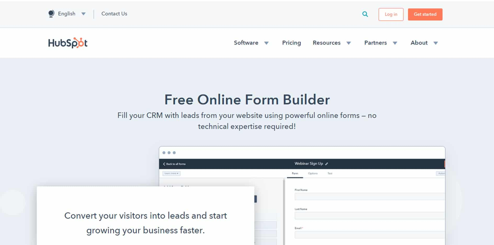 hubspot-wordpress-form