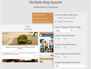 Multiple-Blog-Layout