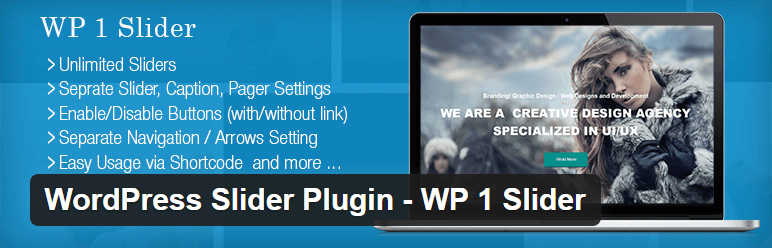 WP 1 Slider - free wordpress slider plugin