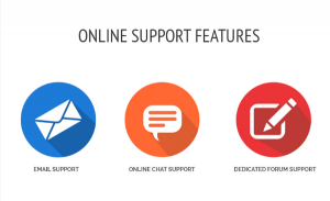 online-support-features