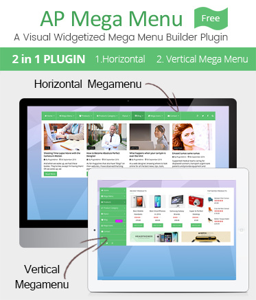AP Mega Menu – Mega Menu for WordPress