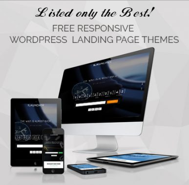 15+ Best Free Responsive WordPress Landing Page Themes for 2017