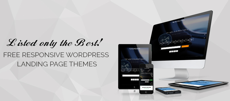 15+ Best Free Responsive WordPress Landing Page Themes for 2018