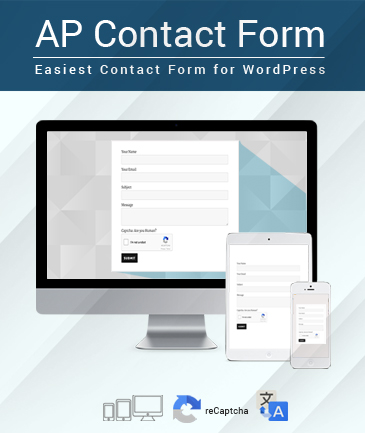 Easiest Contact Form For Wordpress  Ap Contact Form  Accesspress