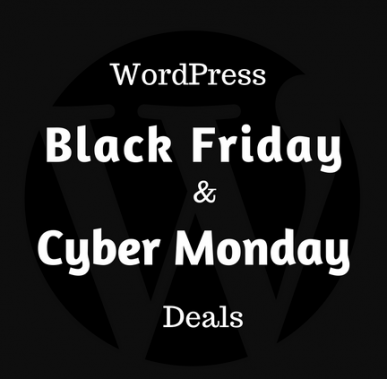 WordPress Deals for Black Friday & Cyber Monday 2016