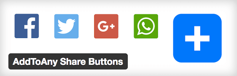 AddToAny Share Buttons - Social Media Plugin
